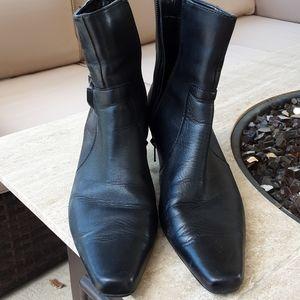 AK Anne Klein iflex ankle black boots size 9 med